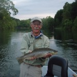 South Holston river brown trout