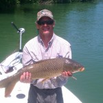 Boone lake carp on cicada patterns