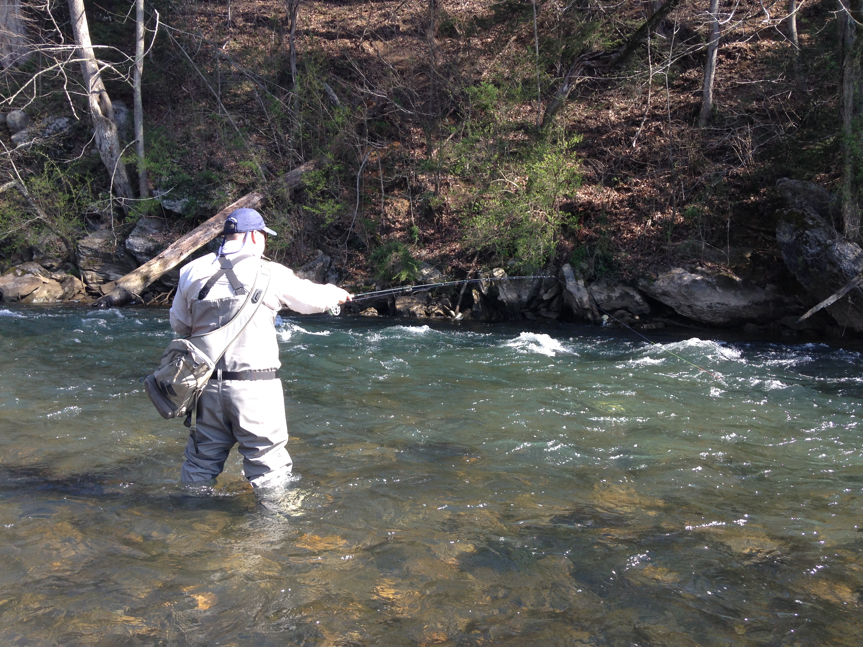 Euro nymphing the watauga river easternflyoutfitters for Watauga river fishing