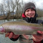Kyle Watauga rainbow with Huck