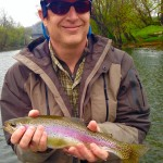 Watauga river rainbow 2