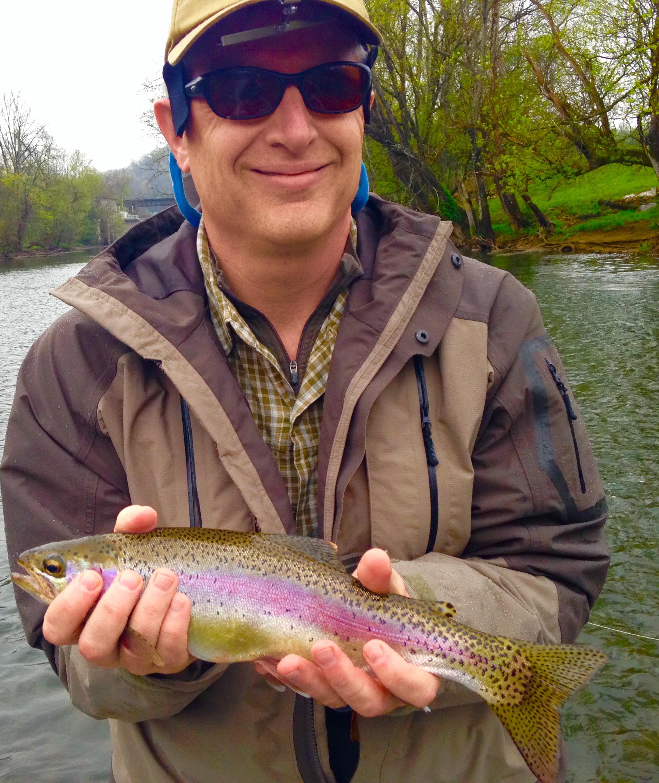 Watauga river rainbow 2