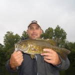 Jon with a nice holston river smallmouth