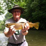 Watauga river brown trout