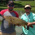 Boone lake carp