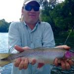 Jim's 18 inch Watauga rainbow